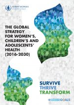 EWEC Global Strategy for Women's Children's and Adolescents' Health (2016 -2030)